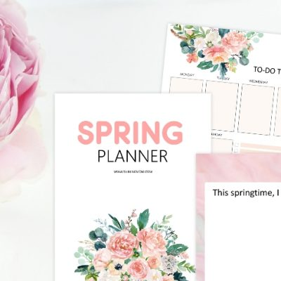 Free Lovely Spring Planner: 30+ Pages!