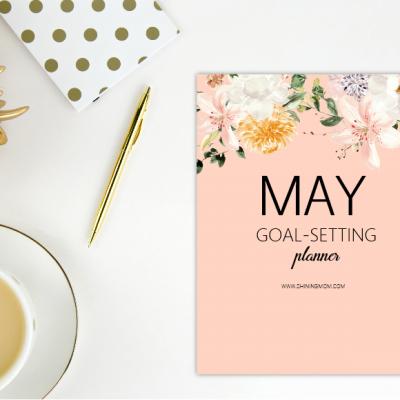 Free Printable May Planner: So Pretty!