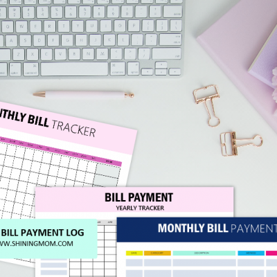 FREE Bill Tracker Printables: Stay on Top of Your Monthly & Yearly Payables!