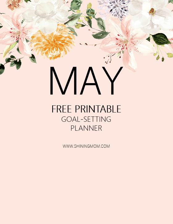free printable May Planner