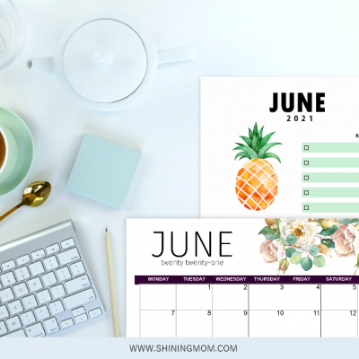 Free Printable June 2021 Calendar: 12 Awesome Designs!