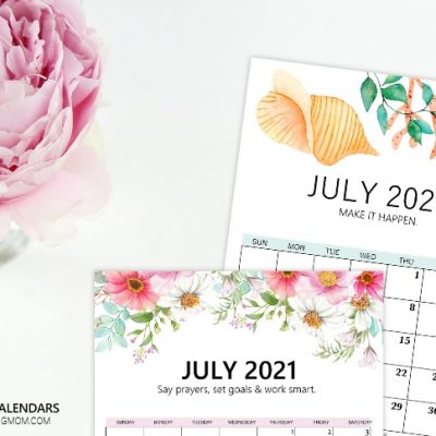 Your July Calendars are Here!