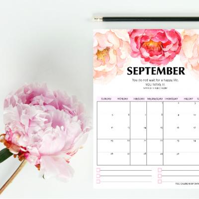 Free September Calendars & Planners