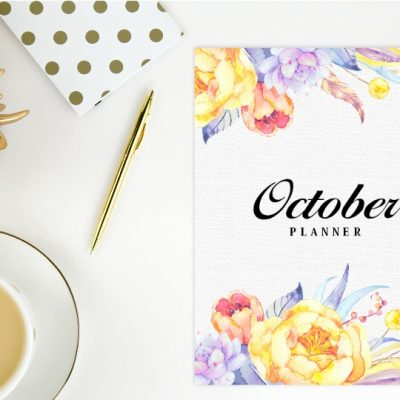 Free Printable October Planner