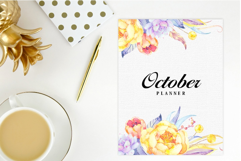This image has an empty alt attribute; its file name is October-planners.jpg