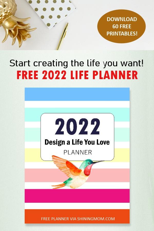 printable 2022 planner