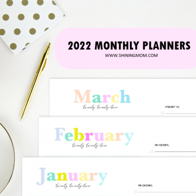 Cute 2022 Monthly Planner Templates to Download!